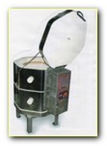 Picture of Fuego top loading 13 amp kiln