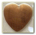 Picture of CB35 Domed heart, large
