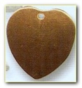 Picture of CB36 Domed heart, small