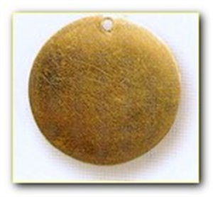 Picture of CB41P Domed circle, pierced