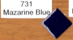 Picture of 731 Mazarine Blue opaque enamel
