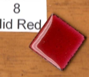 Picture of 8 Mid Red transparent enamel