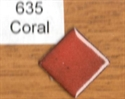 Picture of 635 Coral opaque enamel, 25 g