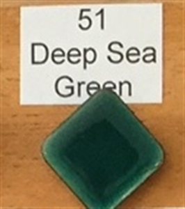 Picture of 51 Deep Sea Green transparent enamel
