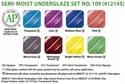Picture of Semi-Moist Underglaze Set 109