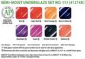 Picture of Semi-Moist Underglaze Set 111