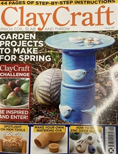 Picture of Clay Craft magazine, issue 49 CURRENT ISSUE