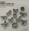 Picture of C-TCS22 Butterfly and Flower shape cutters