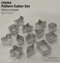 Picture of C-TCS25 Assorted shape cutters